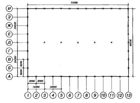 генеральный план атп чертеж